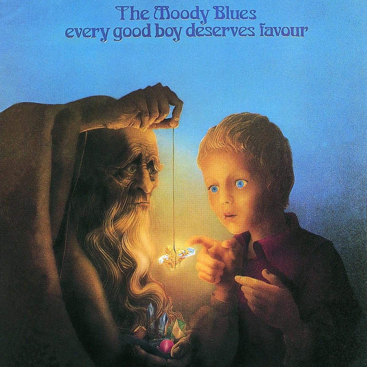 MOODY BLUES - Every Good Boy Deserves Favour Album