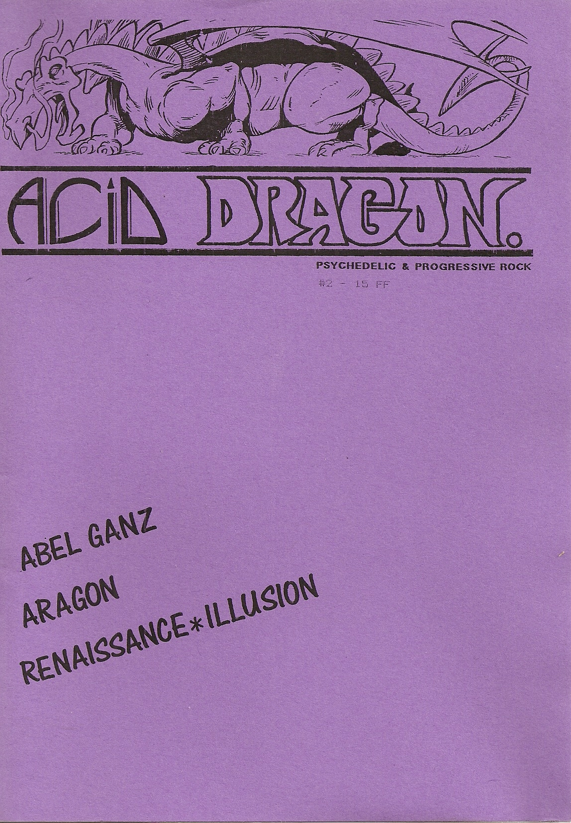 ACID DRAGON - n°02 - Magazine