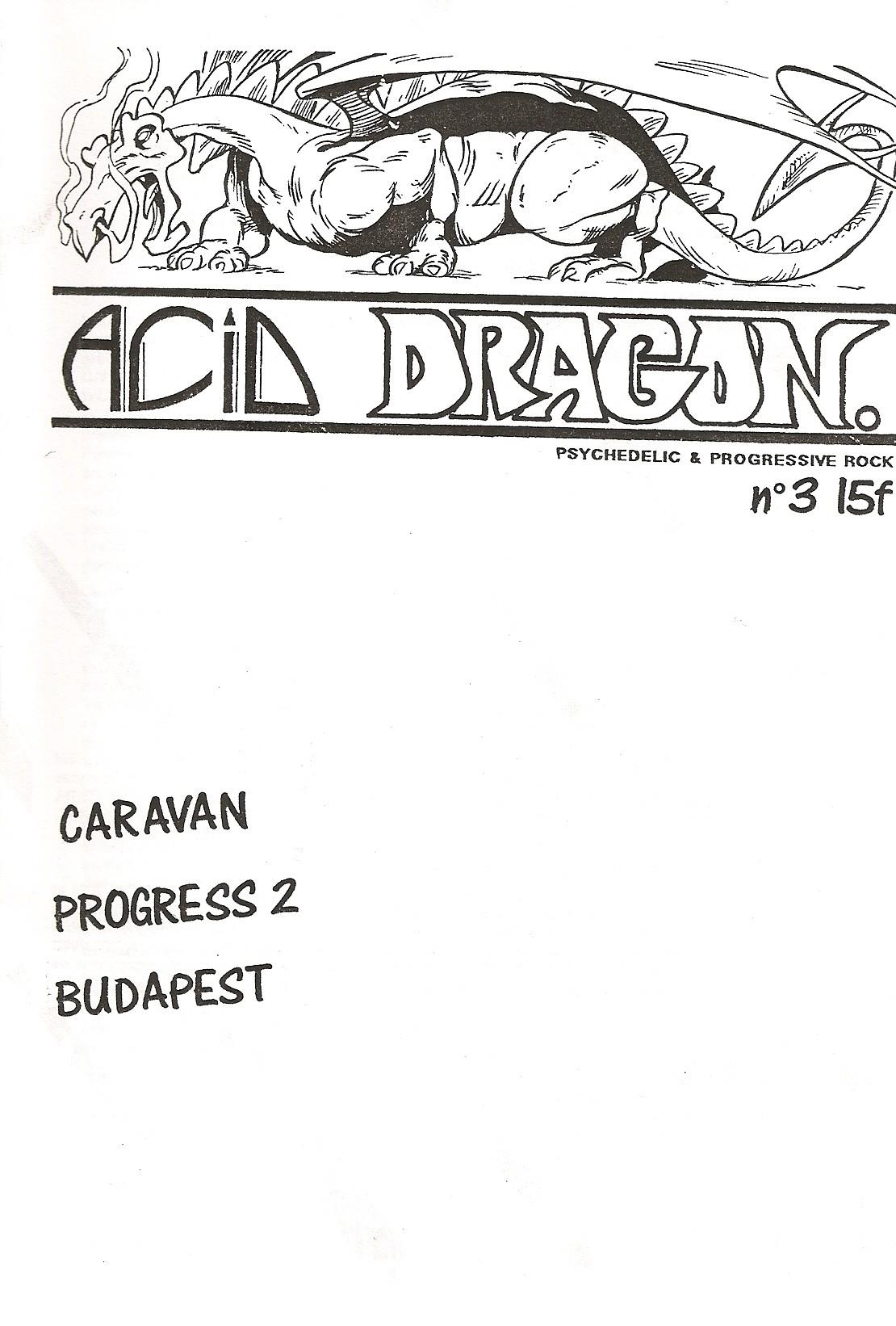 ACID DRAGON - n°03 - Magazine