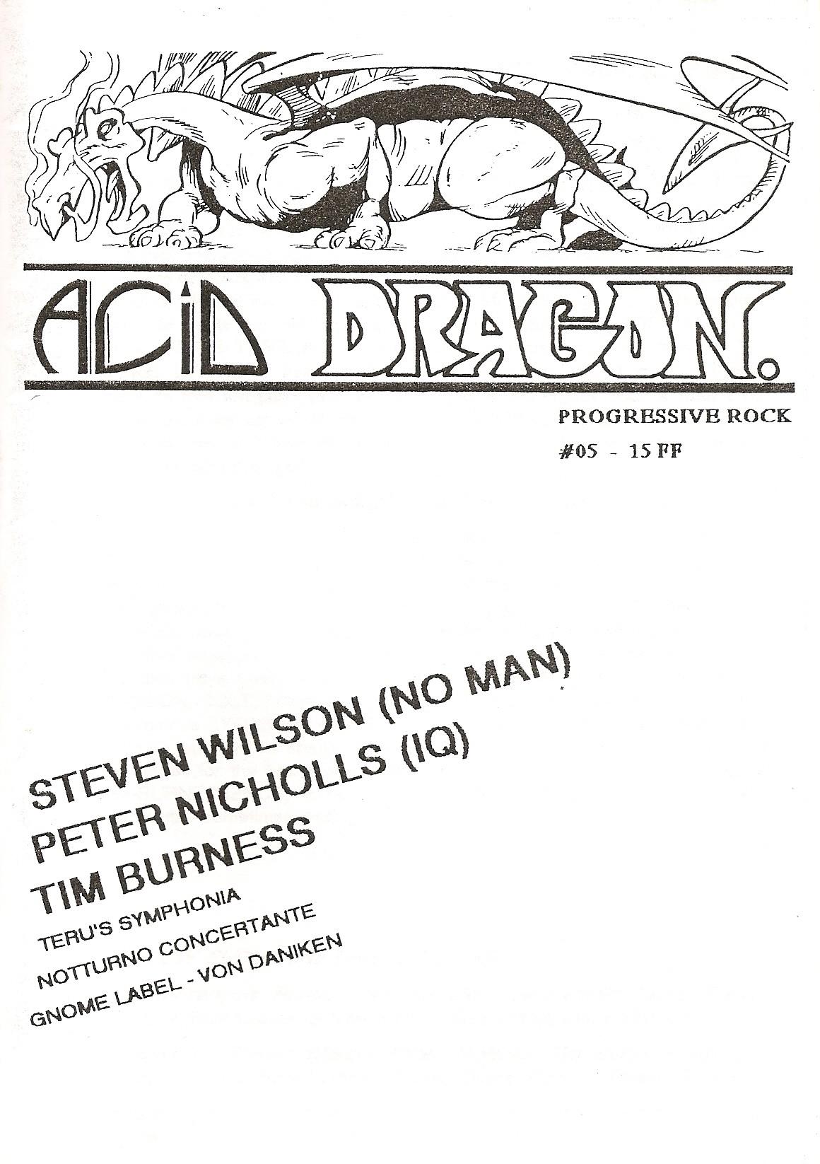 ACID DRAGON - n°05 - Magazine