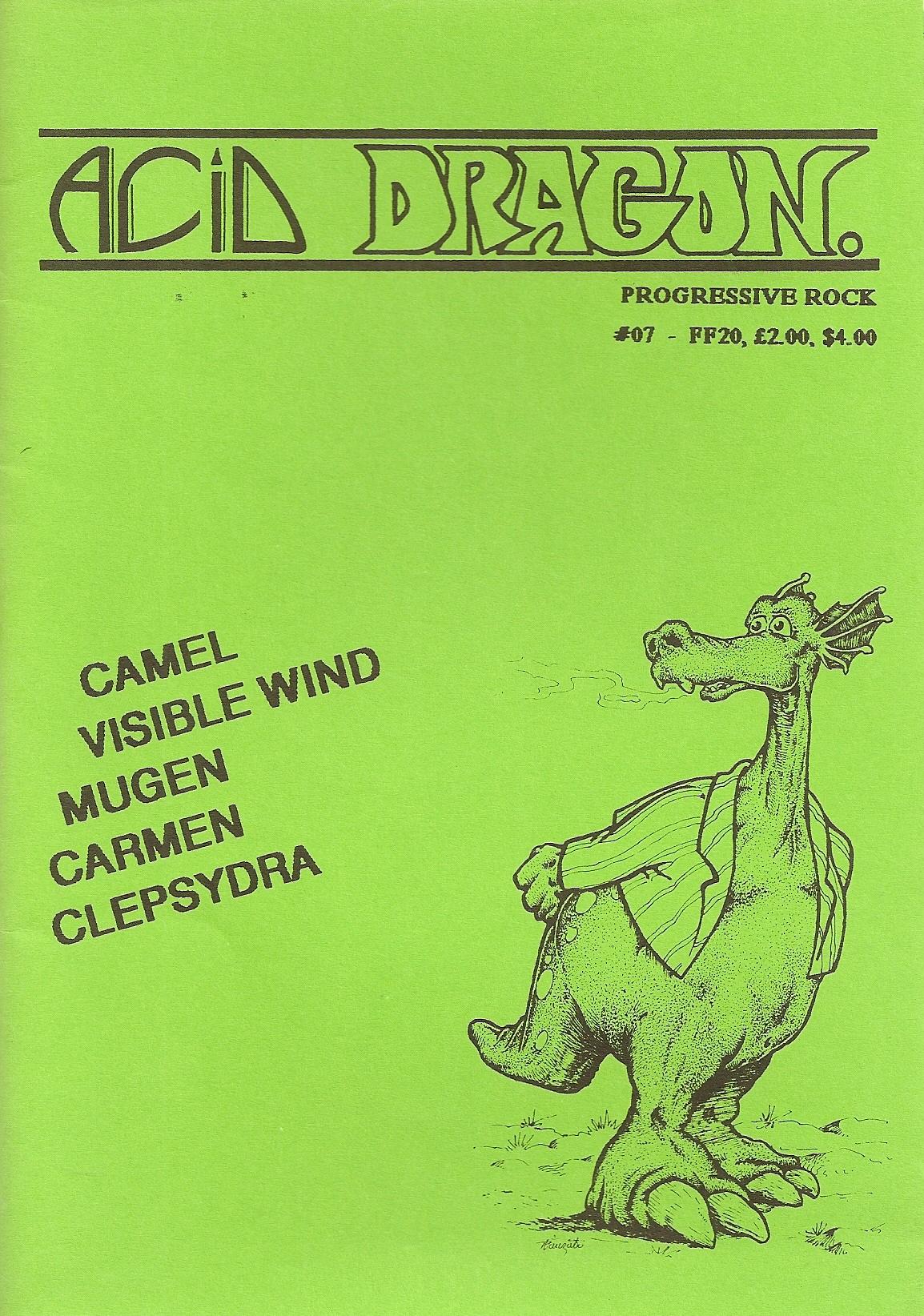 ACID DRAGON - n°07 - Magazine