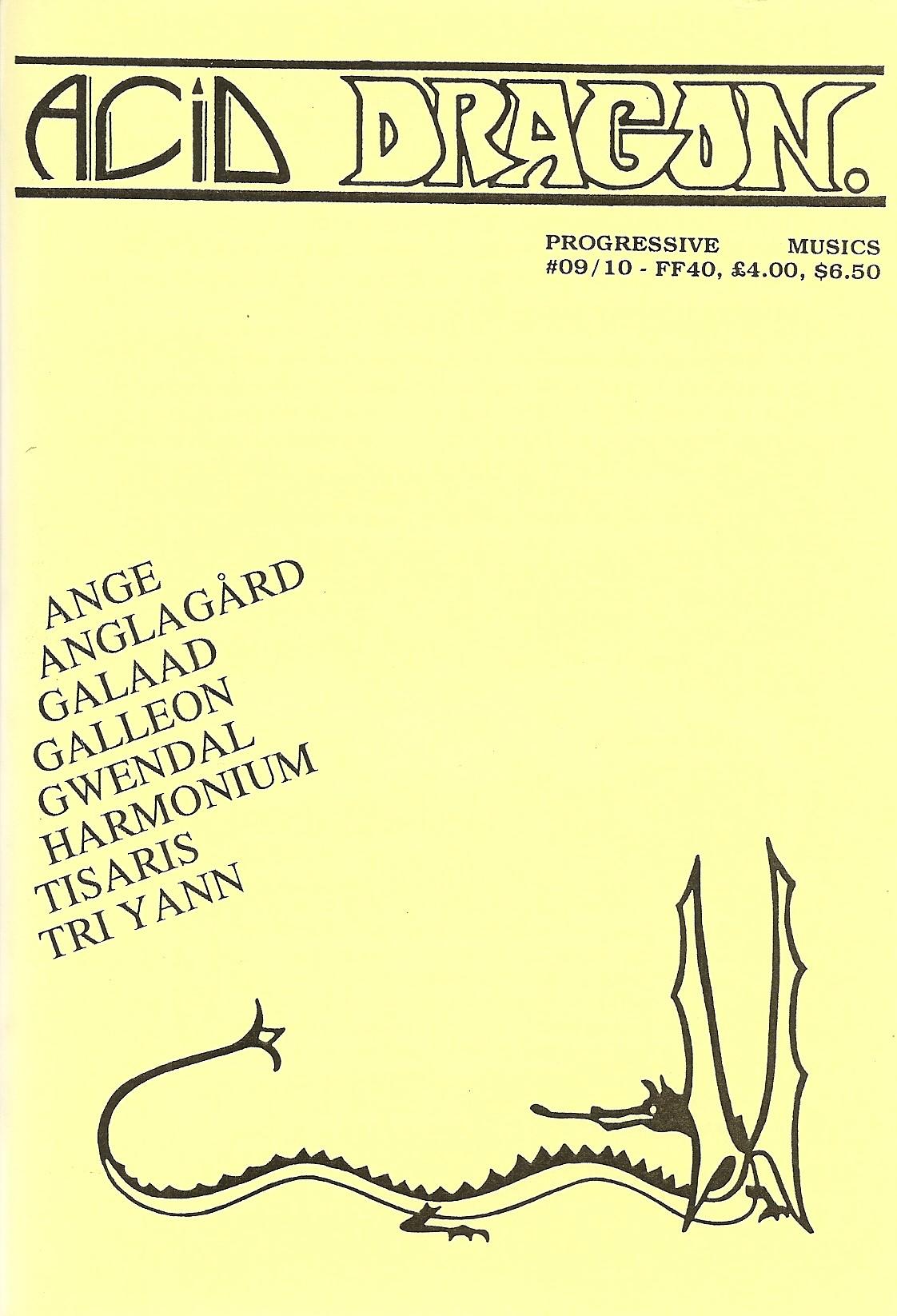 ACID DRAGON - n°09 & 10 - Magazine