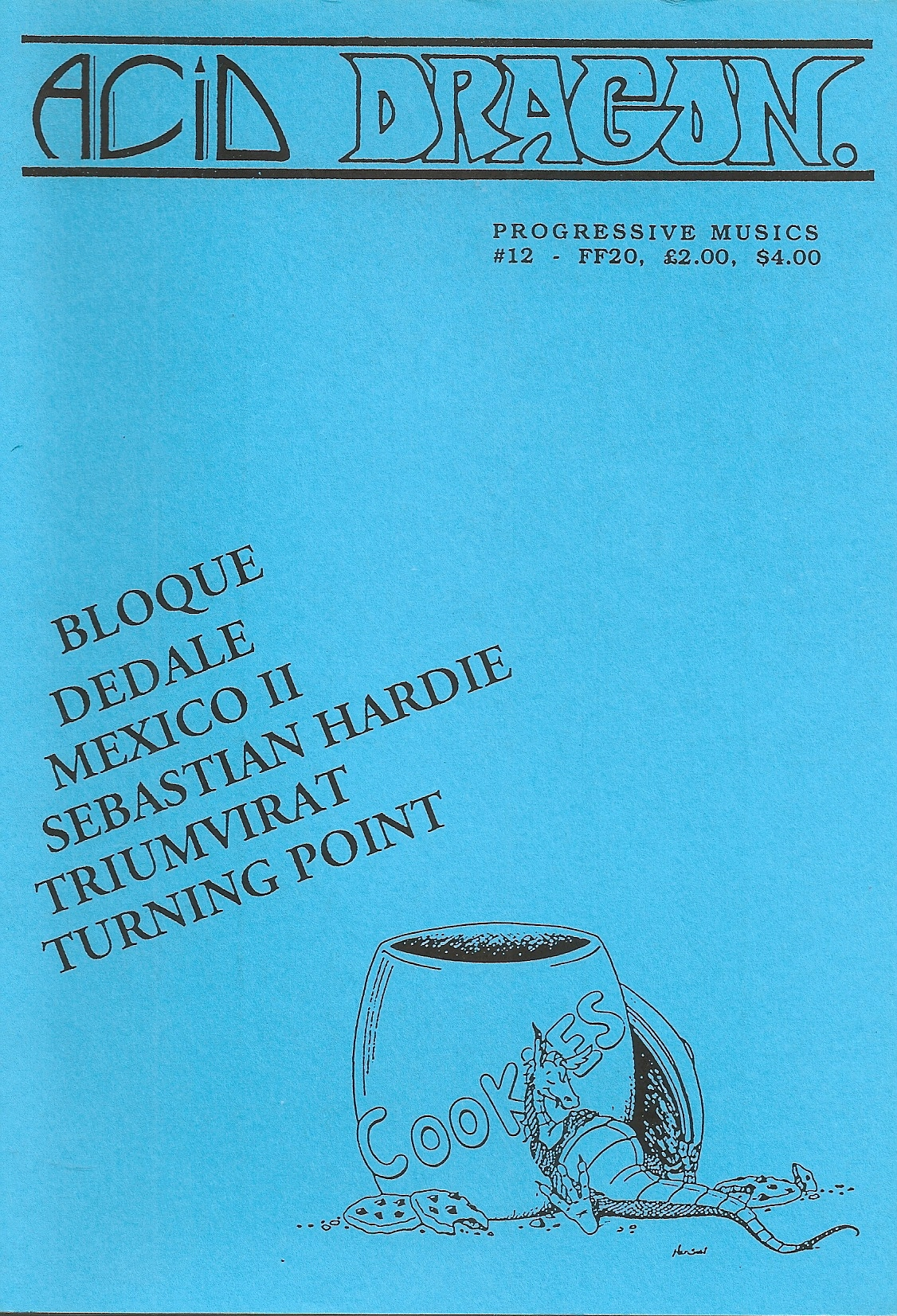 ACID DRAGON - n°12 - Magazine