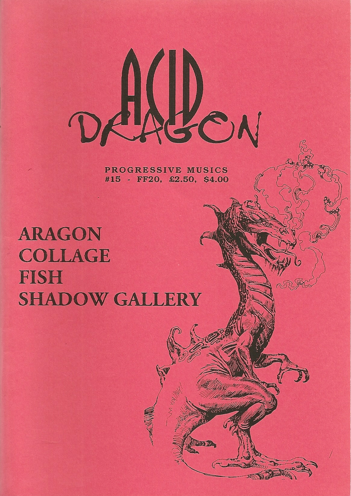 ACID DRAGON - n°15 - Magazine