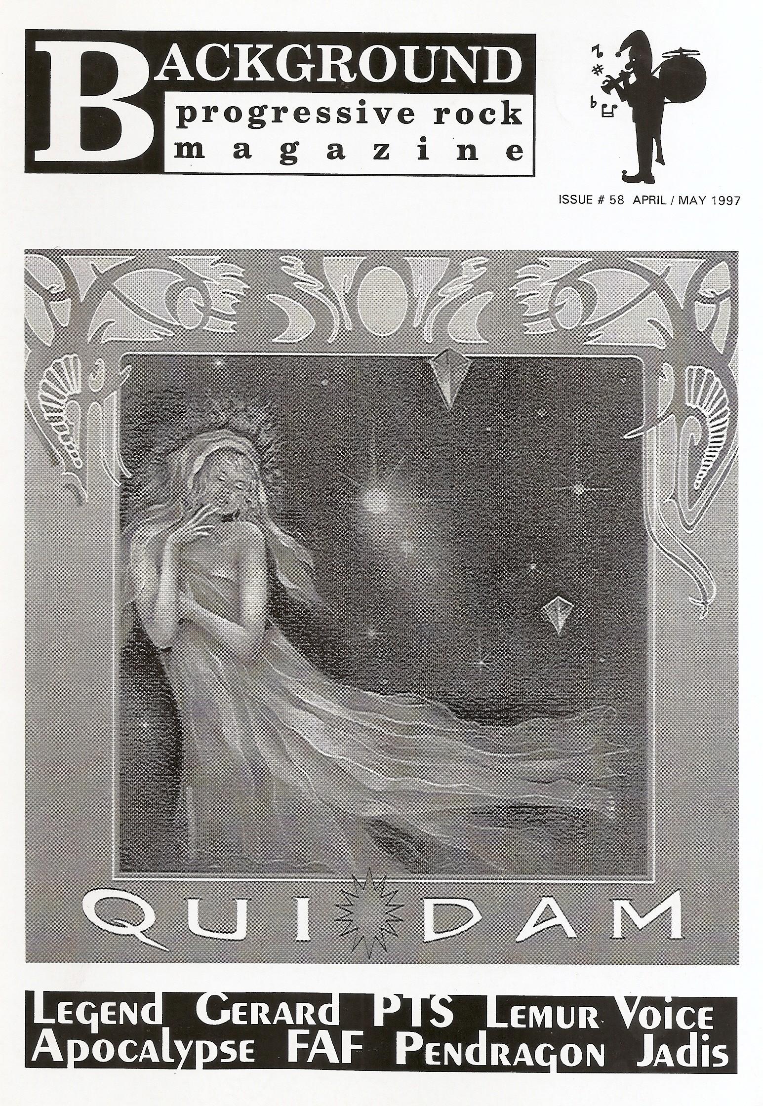 BACKGROUND MAGAZINE - n°58 - Magazine