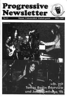 PROGRESSIVE NEWSLETTER - n°13 - Magazine