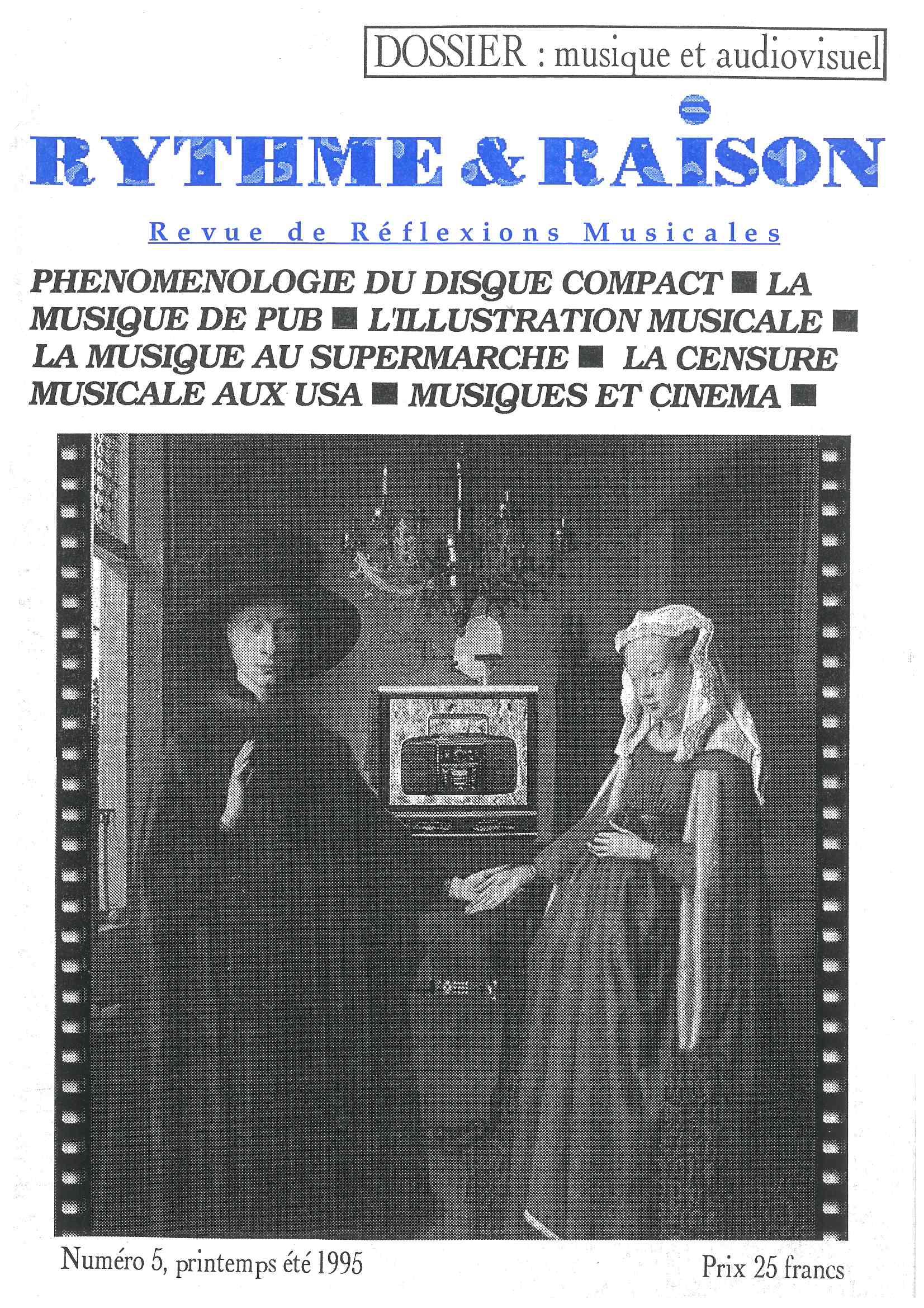 RYTHME ET RAISON - n°05 - Magazine