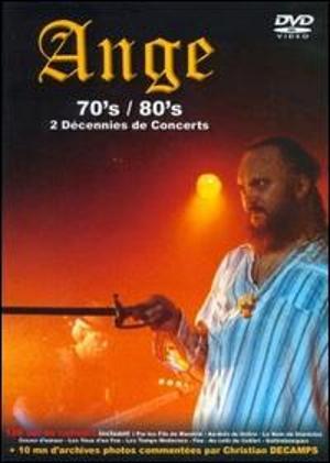 ANGE - Seventies-Eighties - Deux Décennies De Concert - DVD