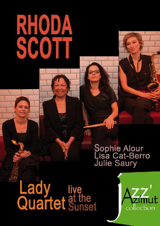 RHODA SCOTT - Lady Quartet - Live At The Sunset - DVD