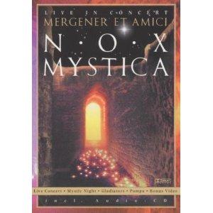 PETER MERGENER & AMICI - Nox Mystica - Live In Concert - DVD