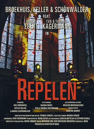 BAS BROEKHUIS, DETLEF KELLER, MARIO SCHOENWAELDER  - Repelen - DVD + CD