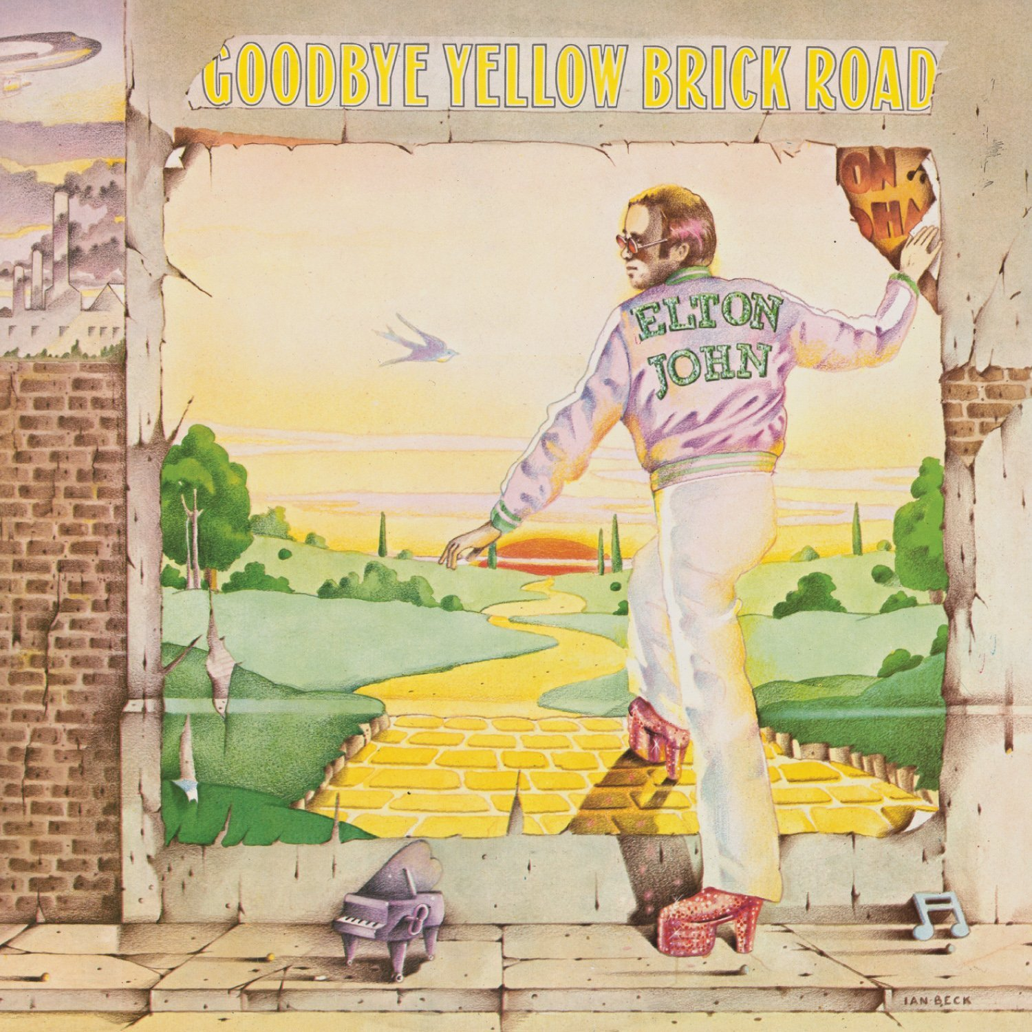 Elton JOHN - Goodbye Yellow Brick Road Single