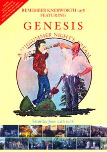 GENESIS - Remember Knebworth 1978 Featuring Genesis - A Midsummer Night's Dream - DVD