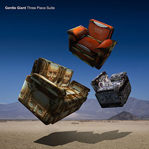 GENTLE GIANT - Three Piece Suite - DVD + CD
