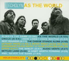 ECHOLYN - As The World - DVD + CD